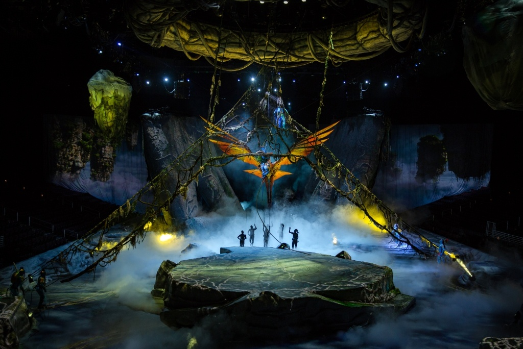 cirque du soleil toruk  TORUK - IL CIRQUE DU SOLEIL SI ISPIRA AD AVATAR - Pala Alpitour