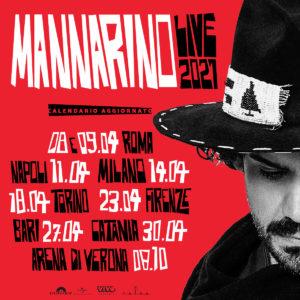 MANNARINO LIVE 2021 – Pala Alpitour